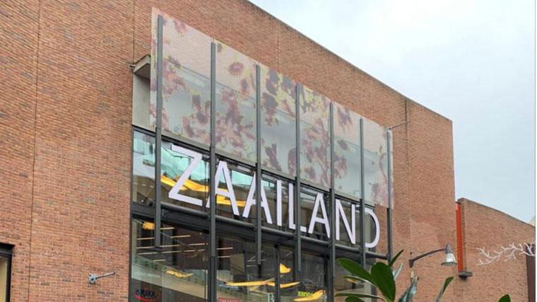 Entree Winkelcentrum Zaailand