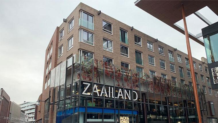 Entree van Winkelcentrum Zaailand