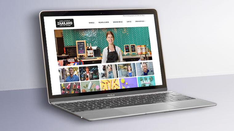 website Winkelcentrum Zaailand